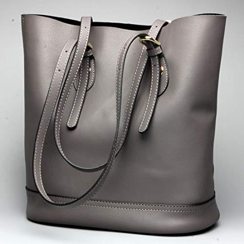 Bolso De Kervinzhang Cuero Moda color Manera La Grey Grey Brown Asas Viajero Del Hombro Ocasional d5BBxZrwq