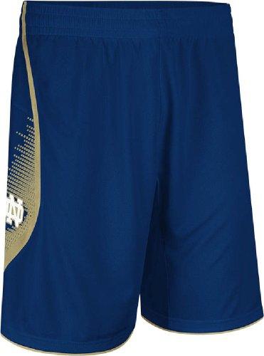(Notre Dame Fighting Irish Navy 2013-14 Adidas Point Guard Swingman Shorts (L))