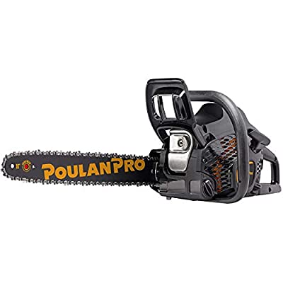 Poulan Pro PR4016 16 Inch Bar 40cc 2 Cycle Gas Chainsaw (Certified Refurbished)