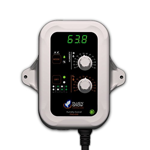 Plug N Grow Controllers Day/Night Humidity Controller W/Smart Differential 120V - PNG-030
