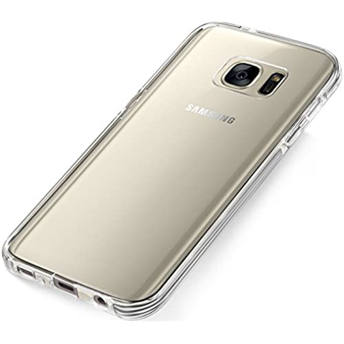 Galaxy S7 Case, JAMMYLIZARD [HALCYON] Silicone Back Cover Edged in Clear Sales