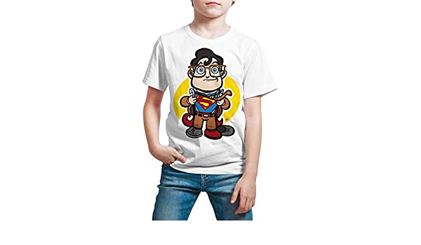 Camiseta Cine Niño - Unisex Superman, Clark Kent: Amazon.es: Ropa y accesorios