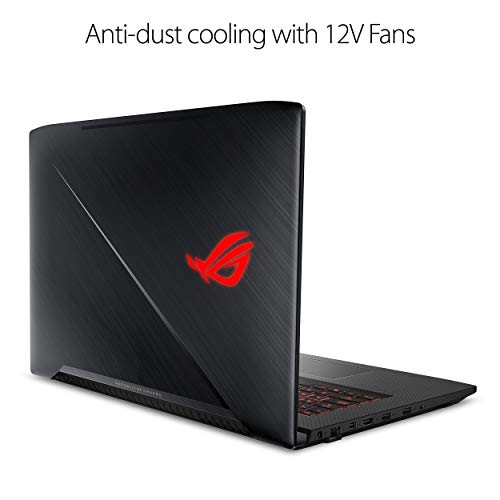 ASUS ROG Strix Scar Edition GL703GS-DS74 17.3in Laptop, 8th-Gen 6-Core Intel Core i7-8750H GTX 1070 8GB, 144Hz 3ms Display, 16GB DDR4, 256GB PCIe SSD + 1TB (Renewed)