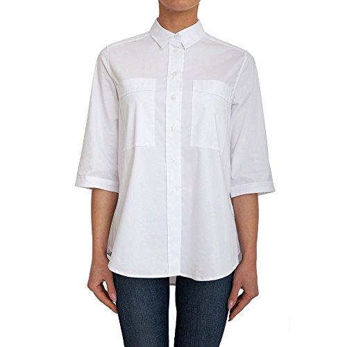 Camicia oversize Armani Jeans 3Y5C05 5NZYZ 1100 bianca White
