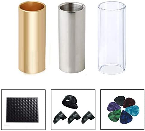 Guitar Slide Glass Steel Finger product image