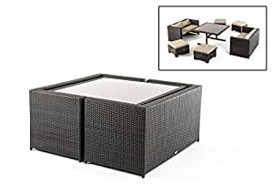 Renava Cube Outdoor Dining Set