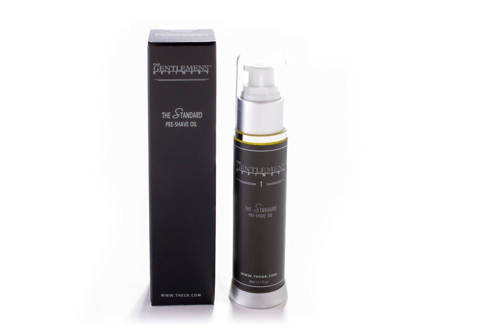 The Gentlemens Refinery 'The Standard' Pre-Shave Oil, All-Natural & Organic, 50ml 689076670142