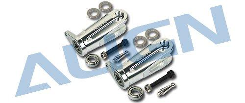 (ALIGN HN7004QF Metal Main Rotor Holder/Silver)