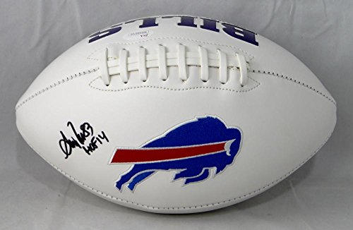 Andre Reed Autographed Buffalo Bills Logo Football w/HOF- JSA W Auth (Autographed Reed Andre Football)