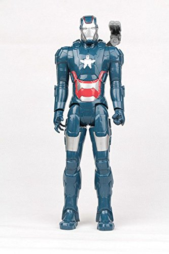 30 CM, The Avengers Action figure model doll (Blue Iron Man) (Star Trek Movie Blue Shirt Adult Costume)