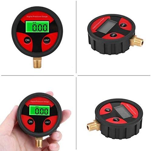 deYukiko Car Truck Motorcycle 0-200PSI LCD Digital Tyre Tire Air Pressure Gauge