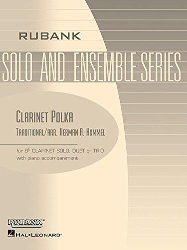Clarinet Polka: Bb Clarinet Solo/Duet/Trio with Piano - Grade 2.5 - Clarinet Polka Music