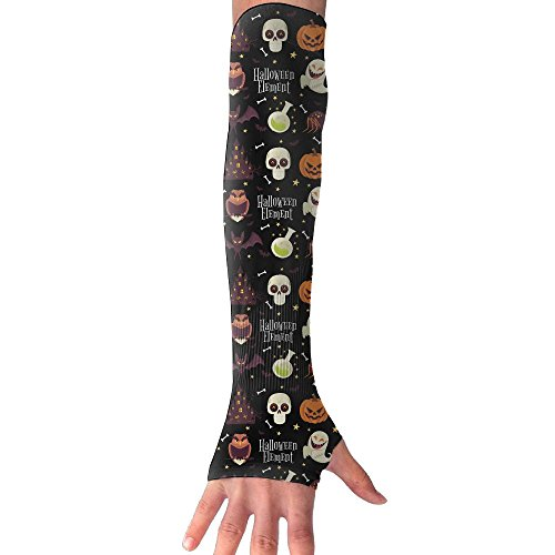 Happy Halloween Happy Party Long Sleeve Sun Protection Arm Sleeves Arm Cooling Sleeve Cycling Outdoor Sports Leisure