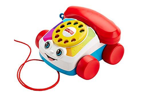 Fisher-Price Speelgoedtelefoon met Geluid, Vanaf 12 Maanden, Meerkleurig