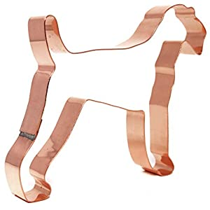 Airedale Terrier Copper Cookie Cutter 4