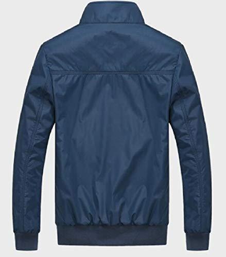 Sottile Uomini Cappotto In Della Blu Giacca Leggero E Volo Forma Bomber Sicurezza Degli r4wHqrTv