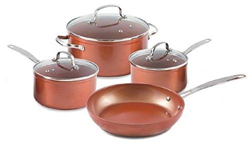 Durlon Cookware 7 Piece Forged Cookware Set