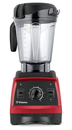 Vitamix 7500 Blender with Low Profile Jar, 2.2 HP Motor, Red (Vitamix Blender Motor compare prices)