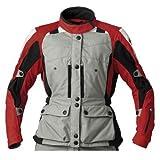 BMW Genuine Motorcycle Motorrad GS Dry jacket, ladies' - Color: Grey / Red - Size: EU 40 US 10
