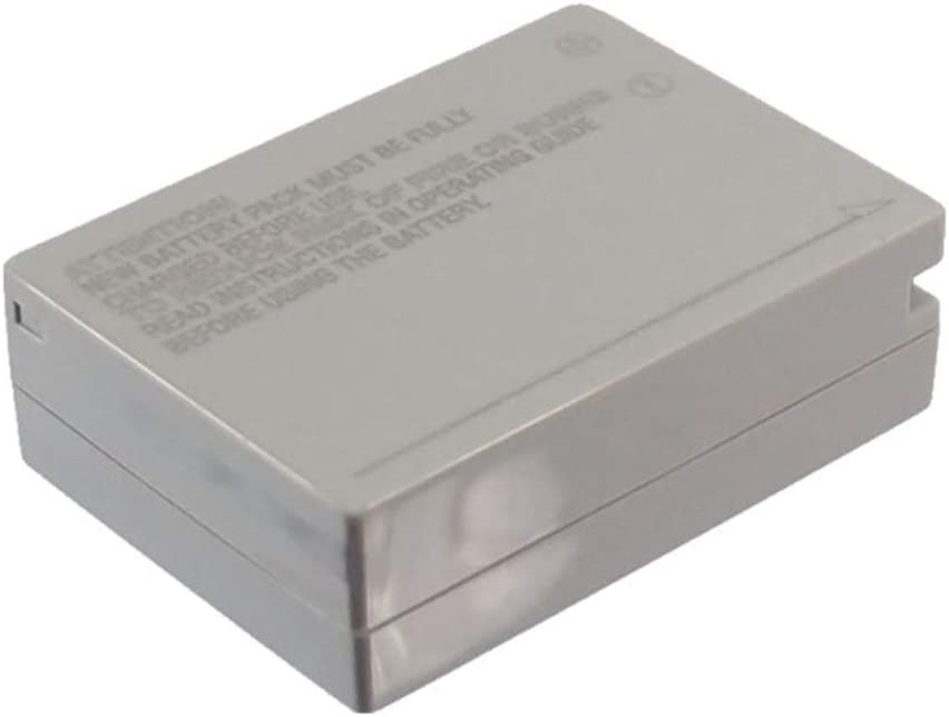 Battery Camera 800mAh//5.92Wh 7.4V Camera Battery for Canon NB-10L//PowerShot G1 X PowerShot SX40 HS Photo Battery Color : Gray, Size : 45.20 x 32.24 x 15.15m