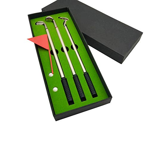 ETH Mini Golf Driving Range Gift Set Metal Stationery Gel Pen Office Supplies Perfect Quality