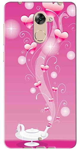 FCS Printed Soft Silicon Back Cover for Panasonic Eluga Mark 2 Pattern-28