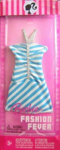 - Barbie - Fashion Fever Blue & White Stripe Dress (2006)