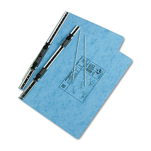 ACCO - Pressboard Hanging Data Binder, 14-7/8 x 8-1/2, Light Blue - Sold As 1 Each - Top and bottom loading binder expandable for various sized projects. by ACCO Brands