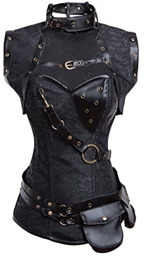 Steampunk – Goth Steel Boned Brocade Corsets