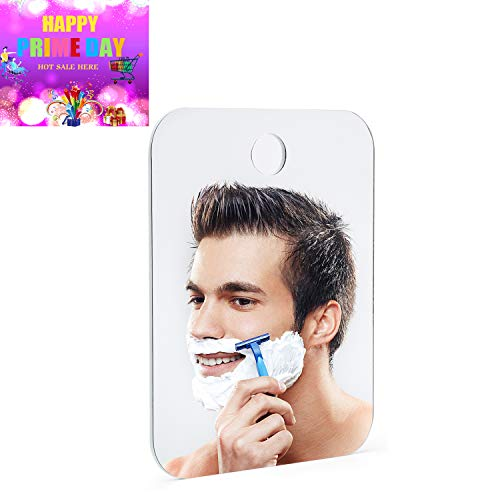 Shower Mirror, Men's Fogless Travel Shaving Mirror