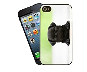 Eclipse Gift Ideas Dog Phone Case, Design 8 - Cute Pug Puppy - For Apple iPhone 5 / 5s - Cover