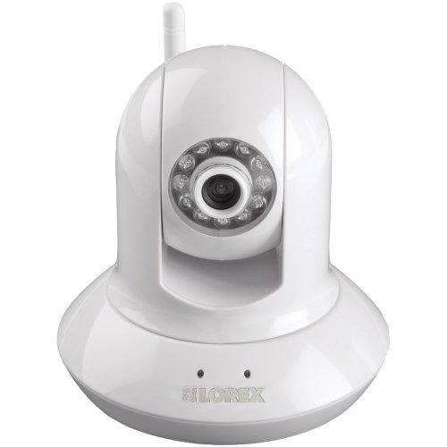 Lorex LNZ4001i Wireless Pan Tilt Easy Connect Network Camera (White)