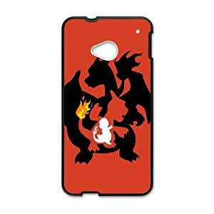 HTC One M7 cell phone cases Black Pokemon fashion phone cases URKL481520
