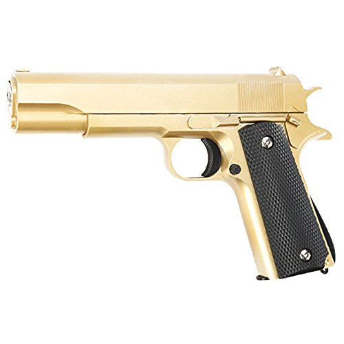 Galaxy G13 M1911 A1 Vollmetall Springer Softair 6mm Bb Gold
