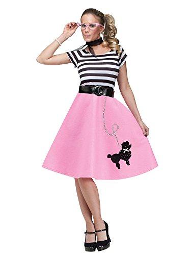 Charades 50s Poodle Skirt Adult Dress -