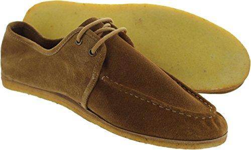 Frank Wright mfw437_rustsue - Mocasines de Ante Para Hombre Marrón Marrón, Color Marrón, Talla 47: Amazon.es: Zapatos y complementos