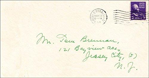 Ty Cobb Autograph Letter Signed 03/30/1953