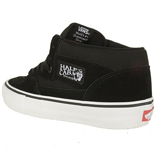 VANS Schuhe - HALF CAB PRO - black white red Black/Black/White