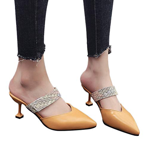 kaifongfu Women's Sandals with Snake Print Single Shoes Casual Ladies ()