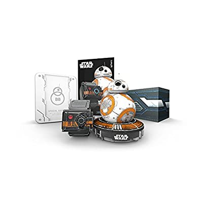 Special Edition Battle-Worn BB-8 by Sphero with Force Band: Toys & Games