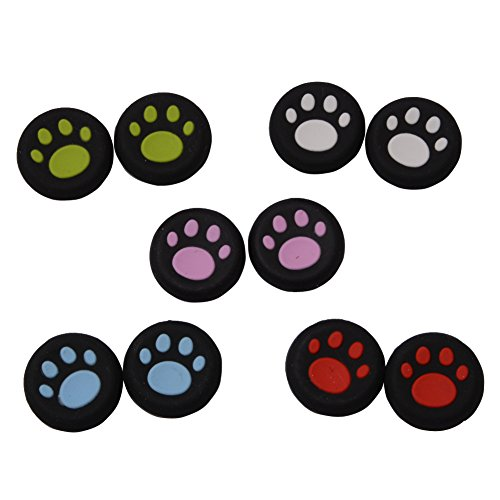 CTYRZCH 5 Pairs Replacement Cat Pad Style Silicone Analog...