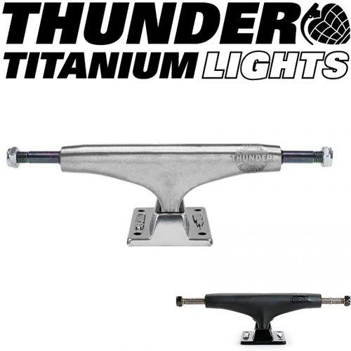 THUNDER TRUCKS トラック サンダー スケートボード [並行輸入品] 149-HI(ハイ) ポリッシュシルバー B01CQA3ZZI