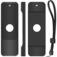 iTrunk Protective Case for Apple TV 4th Gen Remote, Light Weight Silicone Remote Cover Case with Lanyard for Apple TV 4th Generation Siri Remote Controller