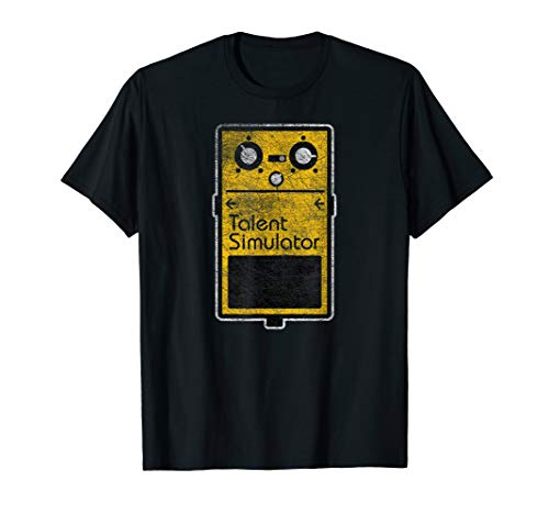 Simulator Effect Pedal - Funny Talent Simulator Effect Pedal T-Shirt
