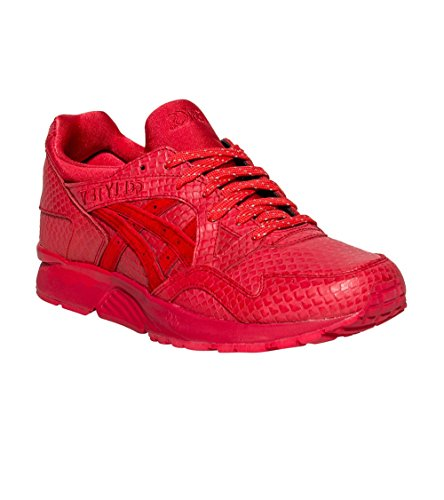 Asics Gel Lyte V Men's Casual Trainers Shoes Red BhBq3yuDTM