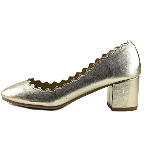 Gold Toe Closed Classic Shoes Pumps Womens Wanted Mia 0FtIqw