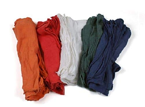 Natural Shop Towels Heavy Rags 18X8'' Commercial Cleaning A Grade Rags 100 Pack by E_GGW (Image #1)