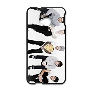 HTC One M7 Cell Phone Case Covers Black Bring Me the Horizon Phone cover L7769892