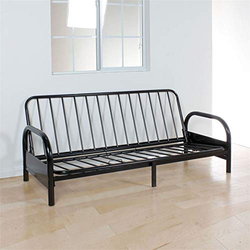 Acme Furniture Alfonso Adjustable Futon Frame in Black by Acme Furniture