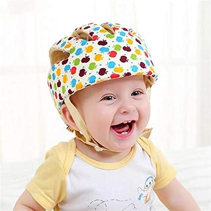 Cascos de seguridad para bebés Sombrero de protección infantil de algodón Sombrero a prueba de golpes: Amazon.es: Bricolaje y herramientas